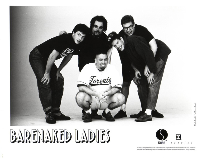 Barenaked Ladies 1992