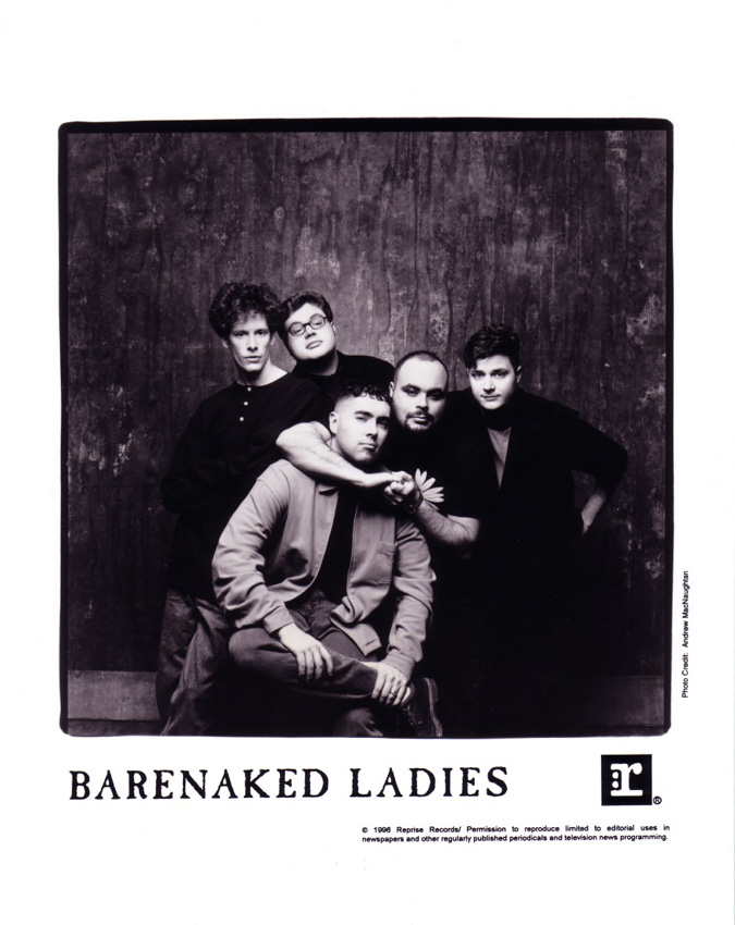 Barenaked Ladies 1996